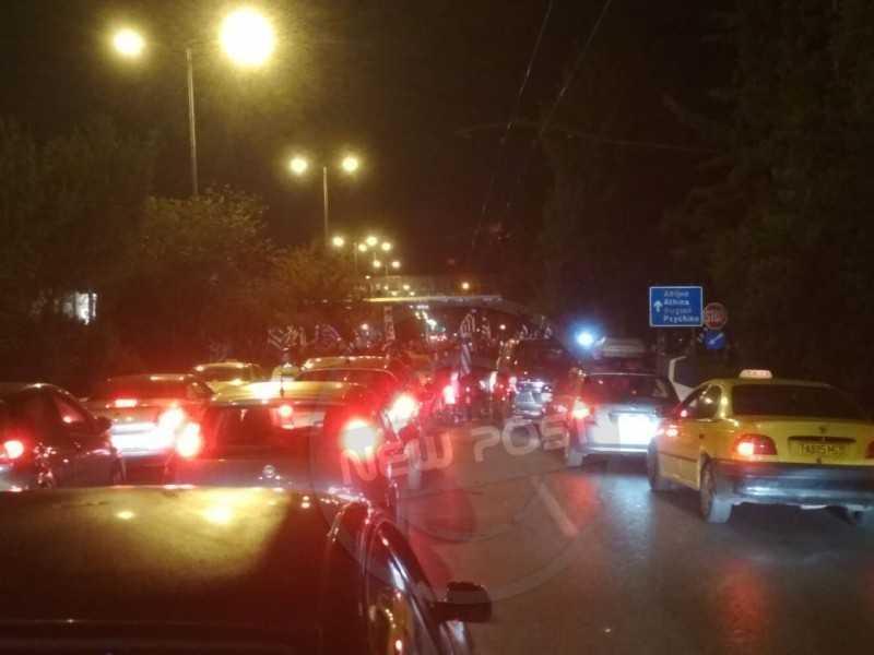 Κλειστή η Λεωφόρος Κηφισίας λόγω διαμαρτυρίας στην αλβανική πρεσβεία για το θάνατο του ομογενή
