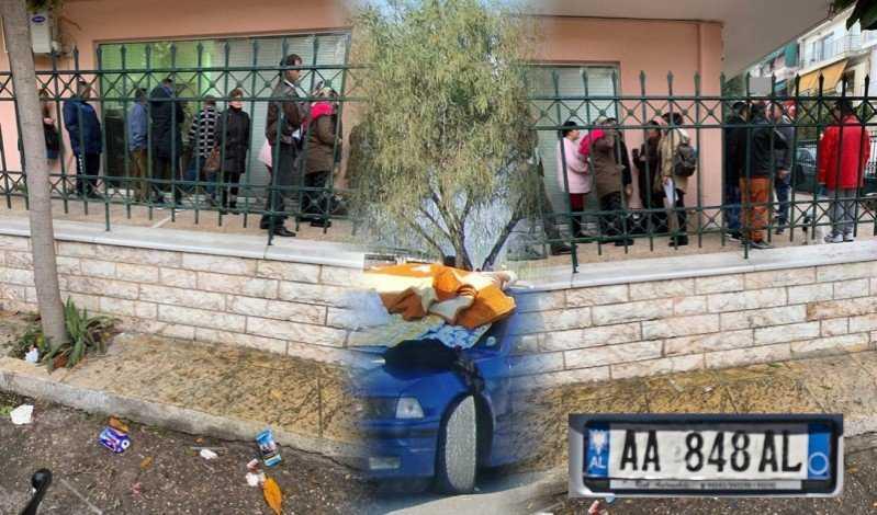 Τσιγγάνοι με BMW και Αλβανοί με Mercedes  κάνουν ουρά έξω από λογιστικά για το κοινωνικό μέρισμα
