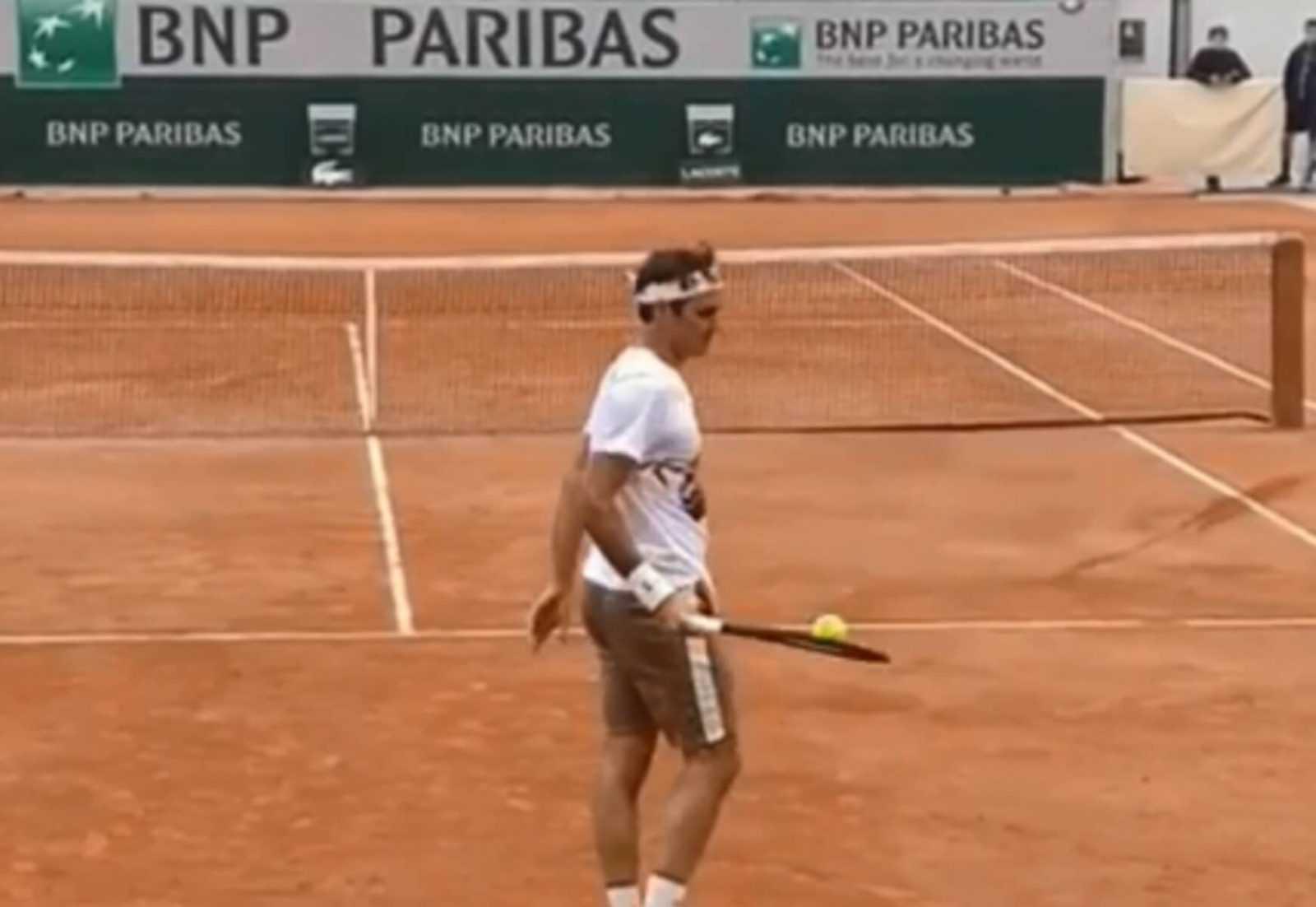 Roland Garros: Απίστευτος Φέντερερ. Κοντρόλ… μεγάλου παίχτη – video