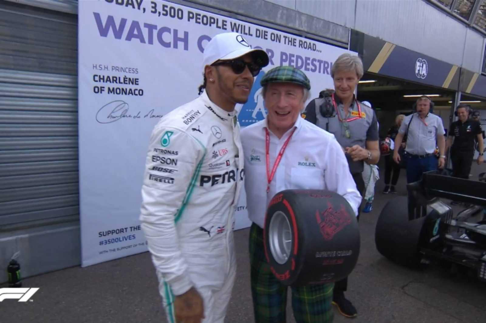 """F1: """"Έλαμψαν"""" Χάμιλτον και Mercedes στο Μονακό. Στον Βρετανό η pole position"""
