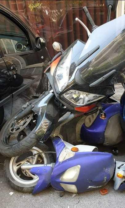 Νεαρή οδηγός καβάλησε τρεις μοτοσυκλέτες σε απίστευτο ατύχημα - Εικόνες 3