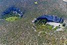 Απίστευτες εικόνες: Οι δύο μυστηριώδεις γιγάντιοι κρατήρες της Αργολίδας
